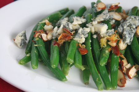green beans almondine with blue cheese ingredients 2 pounds green ...