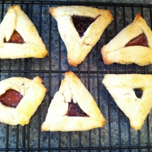 hamantaschen purim cookies