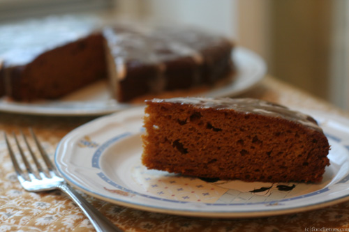 pumpkin gingerbread cake (c)foodietots