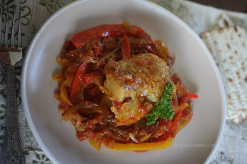 sweet and sour fish ottolenghi