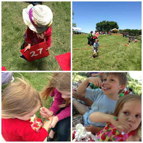 foodietots @ the delaplane strawberry festival