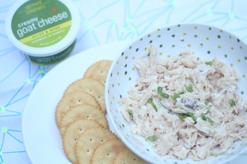 tuna salad with chevre recipe