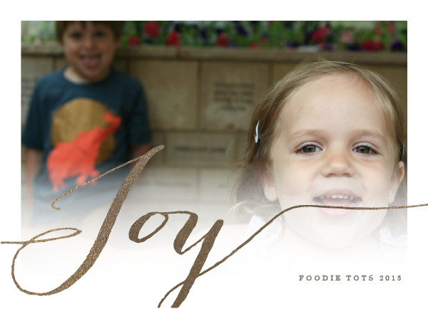Minted holiday cards | foodietots.com