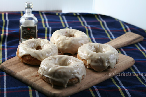 Maple Doughnuts | FoodieTots.com
