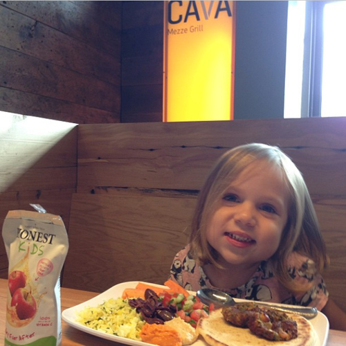 cava grill healthy kids meal | foodietots.com