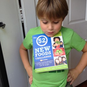 52 new foods challenge cook book
