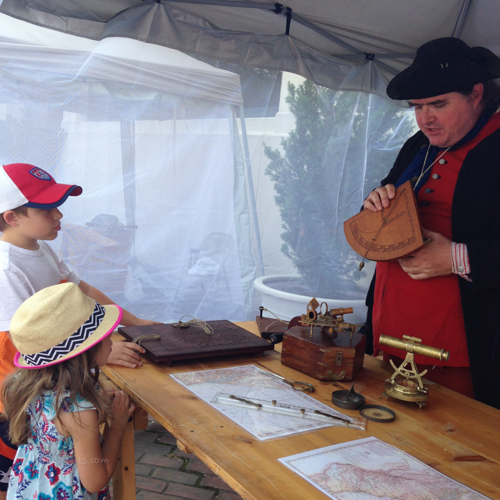 maritime education on the docks | foodietots.com