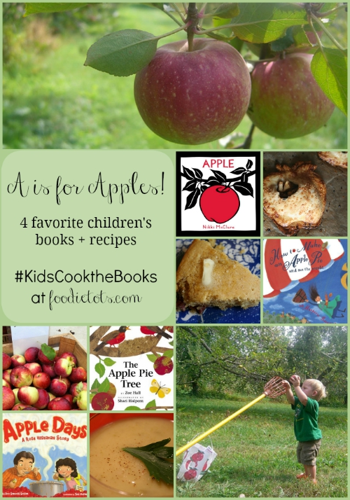 A is for Apples | foodietots.com