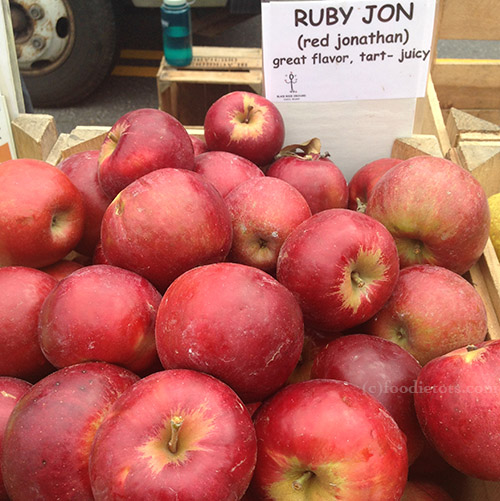 ruby jon apples | foodietots.com