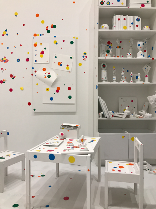 Kusama obliteration room DC | foodietots