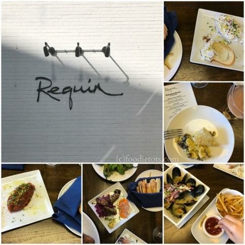 bottomless brunch at reqiun | foodietots.com